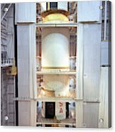 Saturn V First Stage Vertical Assembly Acrylic Print
