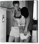 Steve Mcqueen & Wife Acrylic Print
