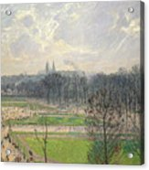 The Garden Of The Tuileries On A Winter Afternoon  Acrylic Print