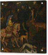 The Vision Of Saint Eustace  Acrylic Print