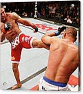 Ufc Fight Night Belfort V Henderson Acrylic Print