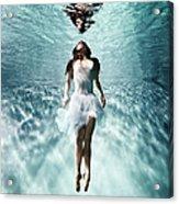 Underwater Ballet Acrylic Print
