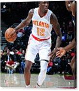 Utah Jazz V Atlanta Hawks Acrylic Print