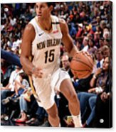 Utah Jazz V New Orleans Pelicans Acrylic Print