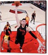Utah Jazz V Portland Trail Blazers Acrylic Print