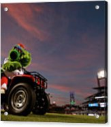 Washington Nationals V Philadelphia Acrylic Print