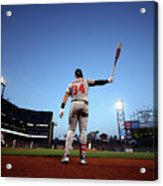 Washington Nationals  V San Francisco 3 Acrylic Print