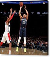 Washington Wizards V New York Knicks Acrylic Print