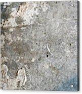 Weathered Stone Wall Acrylic Print