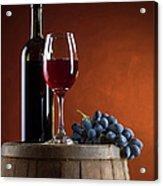 White Wine Composition Acrylic Print