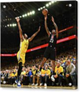 La Clippers V Golden State Warriors - Acrylic Print