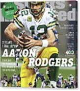 31 Teams, 1 Goal Stop Aaron Rodgers, 2017 Nfl Football Sports Illustrated Cover Acrylic Print