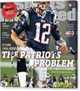 31 Teams, 1 Goal Stop Tom Brady, 2017 Nfl Football Preview Sports Illustrated Cover Acrylic Print