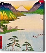 36 Views Of Mt.fuji - Shinshu Suwa Lake Acrylic Print
