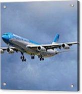 Aerolineas Argentinas Airbus A340-313 Acrylic Print