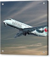 Air Canada Express Bombardier Crj-200er Acrylic Print