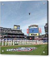 Atlanta Braves V New York Mets Acrylic Print