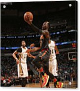 Atlanta Hawks V New Orleans Pelicans Acrylic Print