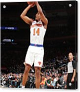 Atlanta Hawks V New York Knicks Acrylic Print