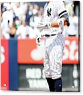 Boston Red Sox V New York Yankees - 4 Acrylic Print