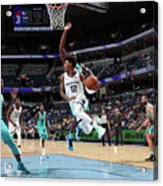 Charlotte Hornets V Memphis Grizzlies Acrylic Print