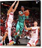 Charlotte Hornets V Miami Heat Acrylic Print