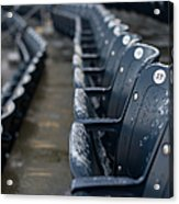 Chicago Cubs V. New York Yankees Acrylic Print