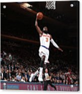 Cleveland Cavaliers V New York Knicks Acrylic Print