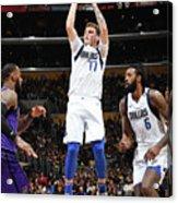 Dallas Mavericks V Los Angeles Lakers Acrylic Print