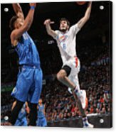 Dallas Mavericks V Oklahoma City Thunder Acrylic Print