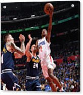 Denver Nuggets V La Clippers Acrylic Print