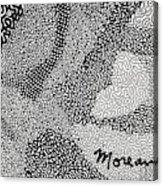 Detail From Sgt. Pepper's Mug Head Acrylic Print