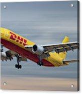 Dhl Airbus A300-f4 Acrylic Print