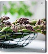 Fresh Green Asparagus Acrylic Print