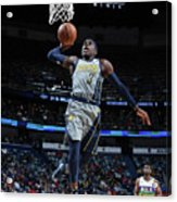 Indiana Pacers V New Orleans Pelicans Acrylic Print