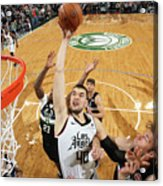 La Clippers V Milwaukee Bucks Acrylic Print