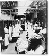 Laundry Workers Acrylic Print