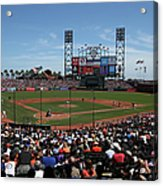 Los Angeles Dodgers V. San Francisco Acrylic Print