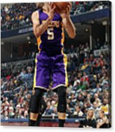 Los Angeles Lakers V Memphis Grizzlies Acrylic Print