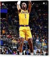 Los Angeles Lakers V Orlando Magic Acrylic Print