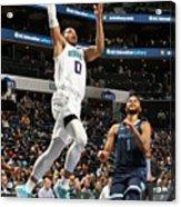 Memphis Grizzlies V Charlotte Hornets Acrylic Print
