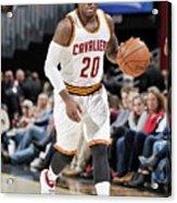 Memphis Grizzlies V Cleveland Cavaliers Acrylic Print