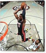 Miami Heat V Brooklyn Nets Acrylic Print