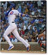 Miami Marlins V Chicago Cubs 4 Acrylic Print