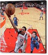 Minnesota Timberwolves V Houston Rockets Acrylic Print