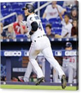 Minnesota Twins V Miami Marlins 4 Acrylic Print