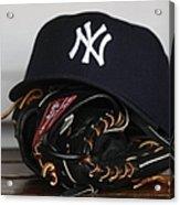 New York Yankees V Florida Marlins Acrylic Print