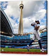 New York Yankees  V Toronto Blue Jays Acrylic Print