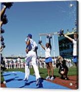 Oakland Athletics V Kansas City Royals 4 Acrylic Print