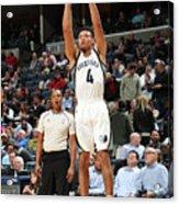 Orlando Magic V Memphis Grizzlies Acrylic Print